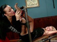 jana cova ticklnig-submission foot-fetish lesbian