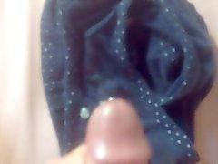 Cumming in my sister's dirty panties #2