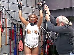 bdsm black and ebony tits