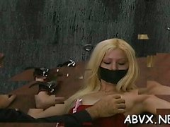 bdsm blonde fetish small tits teen