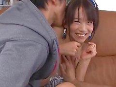 japanisch asiatisch kleine brüste dreier pussy fucking