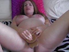 big-boobs masturbate mom mother milf