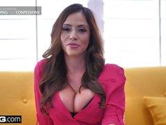 ariella ferrera colombian bangconfessions latin huge tits big
