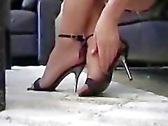 feet foot fetish pantyhose