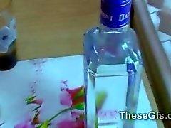 blowjob girlfriends drunken