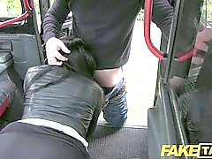 couple oral sex black-haired blowjob