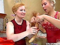 mädchen on-girl russisch lesbisch alten jungen