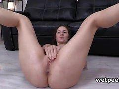 amateur babe brunette fetish masturbation