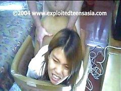 amateur asiático explotado filipina peludo