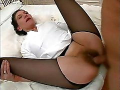 anal matures stockings