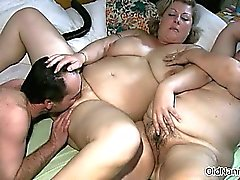 bbw blonde brunette experienced hardcore