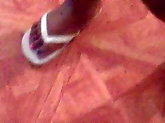 bbw black and ebony foot fetish