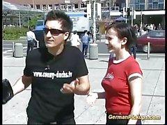 amador alemão ao ar livre
