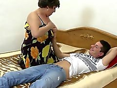 amateur blowjob brunette mature old young
