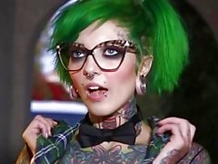 babes glasses tatoos & piercing alt big-boobs