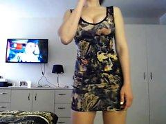 gros seins solo strip-tease webcam