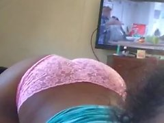 ebony-tits ebony-big-ass pink-panties homemade verified-amateurs