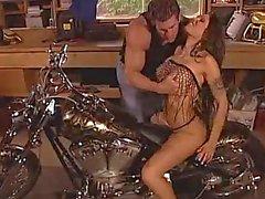 babes big tits biker