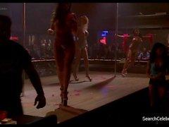brunette big tits public striptease compilation