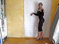crossdressing latex striptease ashemaletube