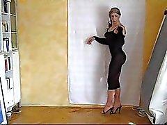 crossdressing latex striptease ashemaletube