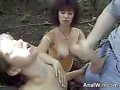 anal big boobs blowjob brunette facial