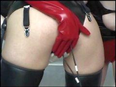 dildo panties latex