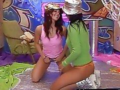 ragazza sulla ragazza baciare lesbica video porno lesbiche