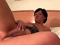 brunette masturbation mature