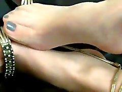 fetiche por pés meias