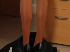 sexy stripping secretary clip sample
