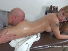Christians Shemale Massage - Scene 2
