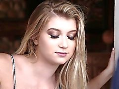 Bound teen face spunked