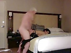 amateur brunette doggystyle old young