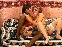 british lesbians stockings