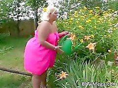 bbw bikini morena grasa