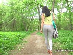 mutter mutter öffentlichkeit außerhalb cameltoe wetlook leggings yoga hosen sehen durch öffentlichkeit siehe