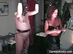 bdsm bondage brunette dominatrix femdom