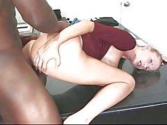 rubias duro interracial