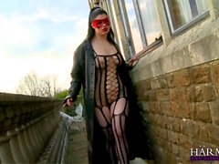 bodystocking öpme lezbiyen