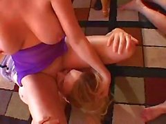 big tits dildo group orgy lesbian