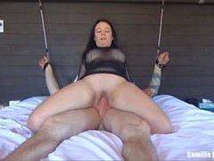 orgasm squirting big boobs big tits camilla