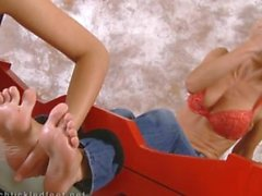 kink tickle ticklish-feet fetish