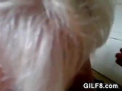 amateur blondine blowjob oma