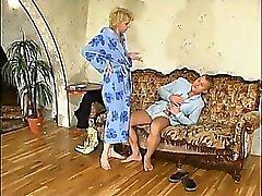 blonde blowjob lick mature small cocks