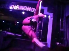 Beautiful Exotic Babe Pole Push - Begin Again (party mix)