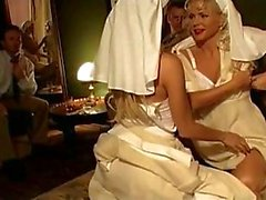 anal blondes lingerie