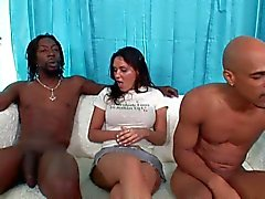 black and ebony interracial italian threesomes