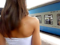 brunettes czech public nudity