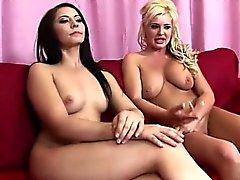 anal asslick big boobs blonde